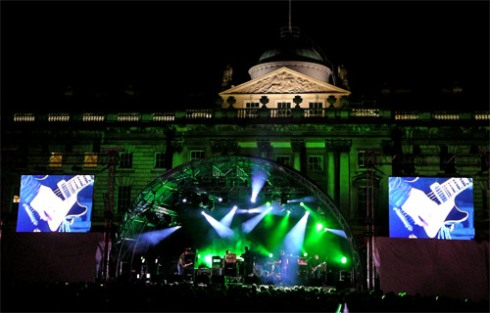 Mogwai live @ Somerset House (12-07-2007)