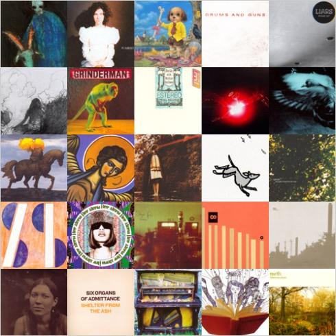 NarcoAgent Top 25 Albums of2007