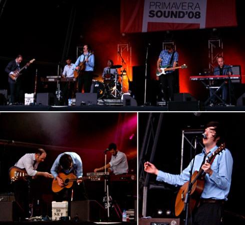 Okkervil River, Estrella Damm stage, Primavera Sound, 01-Jun-2008